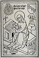 Saint Bridget of Sweden. Woodcut. Wellcome V0031748.jpg