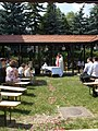 Saint Sabina Chapel, wedding, 2017 Péterhegy.jpg