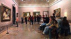 Sala de Tiziano en el Museo del Prado.jpg