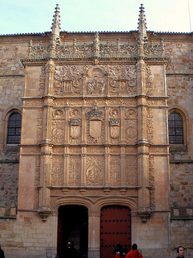 Salamanca - Universidad, Escuelas Mayores, fachada 07.jpg
