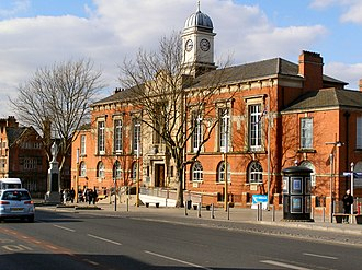 Sale, Greater Manchester - Image: Sale Town Hall geograph.org.uk 1749852