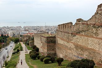 Walls of Thessaloniki - The eastern walls