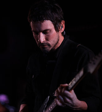 Sam Roberts - Roberts performing at Mercury Lounge in New York City, New York on February 2014.