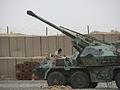 Samobieżna armatohaubica wzór 1977 Dana self-propelled howitzer in Afghanistan.jpg