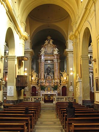 San Francesco a Ripa - Interior of the church