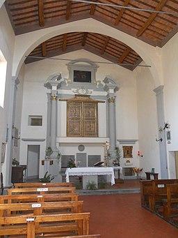 San Giovanni d'Asso, Pieve di San Giovanni Battista, interno
