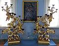 San miniato, museo della misericordia, candelabri del xviii sec.JPG