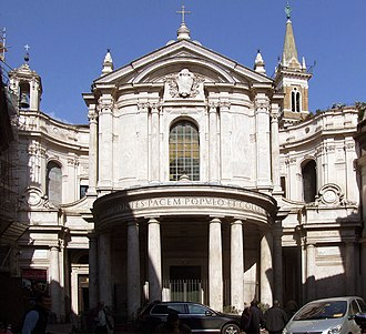 Santa Maria della Pace - Image: Santa Maria della Pace, Rome