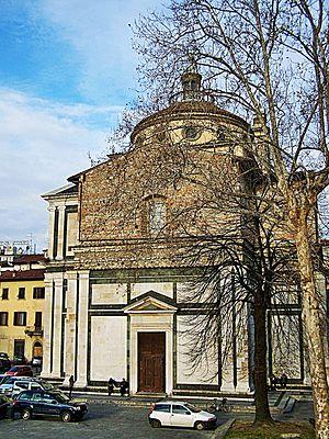 Prato - Santa Maria delle Carceri church.