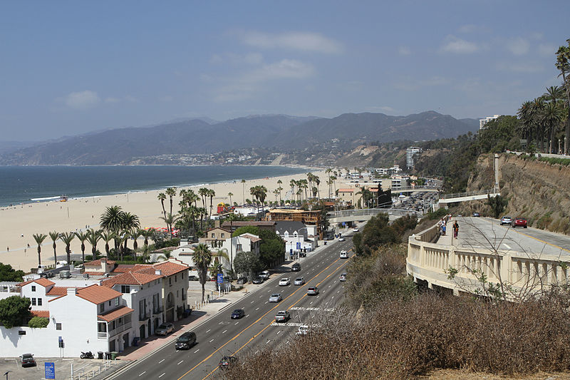 File:Santa Monica Beach.jpg