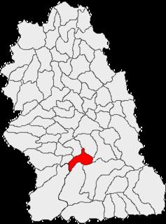 Sântămăria-Orlea Commune in Hunedoara, Romania