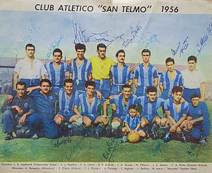 Club Atlético San Telmo - The 1956 team won the second title for the club.