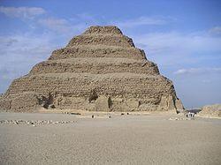 Пирамида Джосера в Саккаре