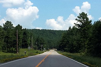 Arkansas Scenic Byways - Image: Scenic Byway 7 in Arkansas