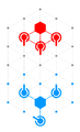 Schema ExempleDepart Positions autorisees PionSimple.png