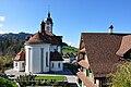 Schindellegi - St. Anna Kirche - Etzel 2010-10-21 14-47-52.JPG