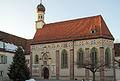 Schloss Blutenburg - Kapelle (Innenhof).jpg