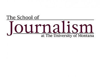 English: University of Montana Journalism logo