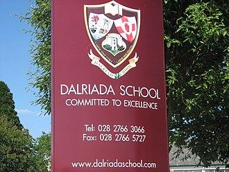 Dalriada School - Dalriada School Sign