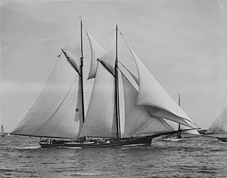 1870 America's Cup - Image: Schooner Magic