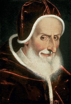 Pope Pius V - Portrait by Scipione Pulzone, c. 1578