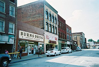 Scottdale, Pennsylvania - Downtown Scottdale (Pittsburgh Street)