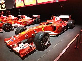 Ferrari F2004 racing automobile