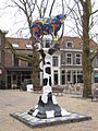 "Sculpture ""Delftse koe"" by Rob Brandt, Delft, the Netherlands.JPG"