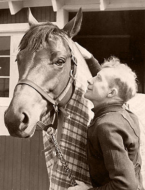 Seabiscuit - Seabiscuit with Red Pollard
