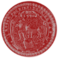 Seal Hungary Guild Butchers Győr (1570).png
