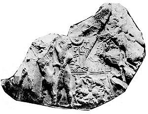 Kiş kralı Mesanepada'nın mühür baskısı.jpg