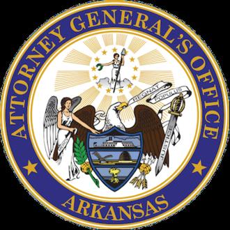 Seal of Arkansas - Image: Seal of the Attorney General of Arkansas