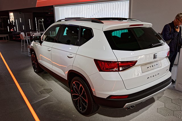 Image of Seat Ateca - Mondial de l'Automobile de Paris 2016 - 003