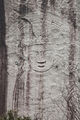 Seated Bodhisattva Carved on the Rock at Hakdoam temple in Seoul, Korea 02.jpg