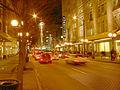 Seattle - Pine St at night Xmas 01.jpg