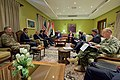 Secretary Kerry and His Advisers Meet With Kurdistan Regional Government Prime Minister Barzani, Deputy Prime Minister Talabani, and Chief of Staff Dr. Hussein in Baghdad (26281237606).jpg