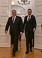 Secretary Pompeo Participates in a Bilateral Meeting With Hungarian Foreign Minister Szijjarto - 32121245057.jpg