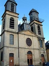 Sedan - Eglise Saint-Charles-Borromée - Façade.JPG