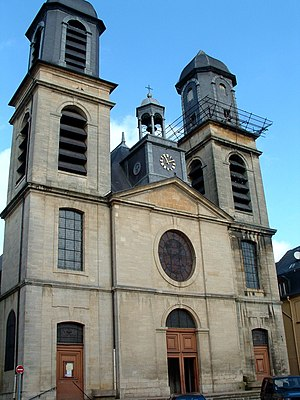 Principality of Sedan - The Protestant church in Sedan, later Catholicized and re-dedicated to Charles Borromeo.