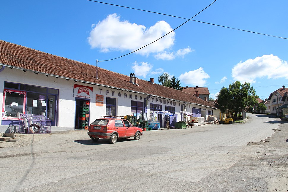 Selo Valjevska Kamenica - opština Valjevo - zapadna Srbija - centar sela 1