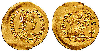 Durrës - The Eastern Roman Emperor Anastasius I was born into an Illyrian family in Durrës.