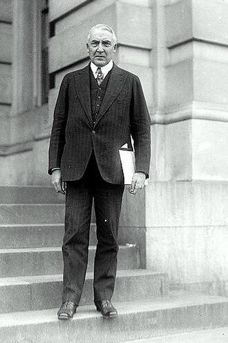 Harry M. Daugherty - U.S. Senator Warren Harding, circa 1918.
