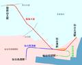 Sendai Rinkai Railway map.png