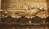 Sepulcro de Enrique II, rey de Castilla y León. Capilla de los Reyes Nuevos de la Catedral de Toledo.jpg