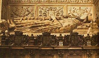 Henry II of Castile - The tomb of Henry II of Castile.