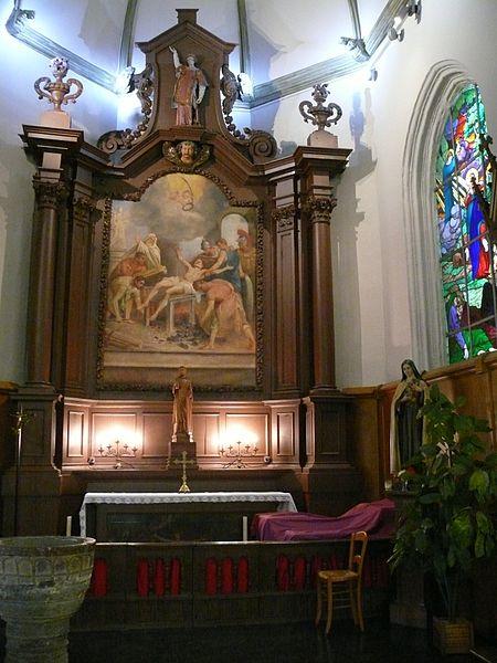 Saint-Laurent's church of Sequedin (Nord, France).