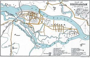 Srirangapatna - Map