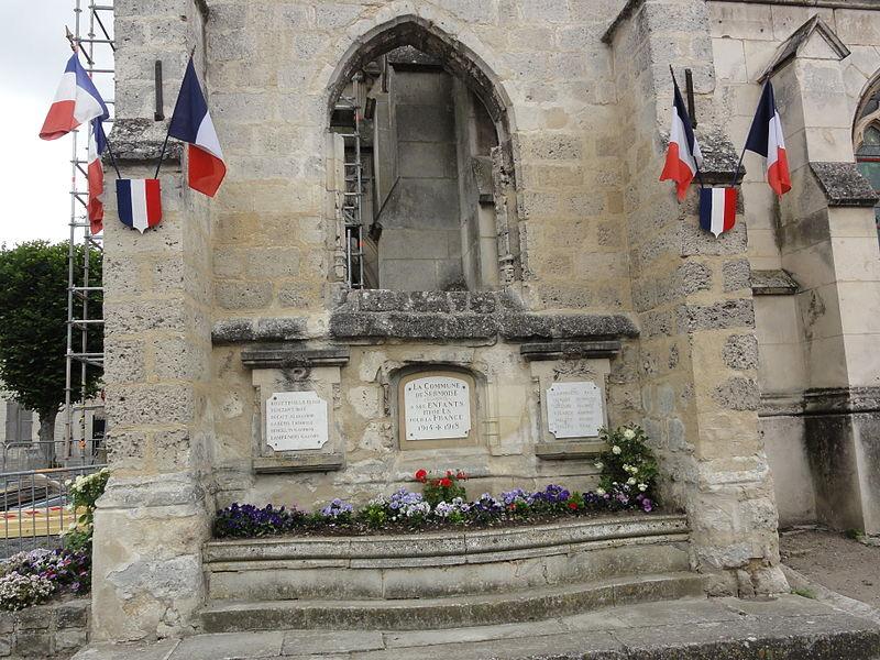 Sermoise (Aisne) monument aux morts