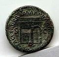 Sesterzio di nerone con tempio di giano, 65 dc., lugdunum.jpg