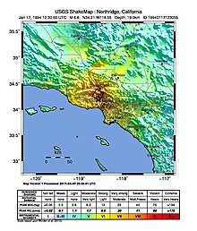 1994 Northridge earthquake  Wikipedia